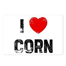 I * Corn Postcards (Package of 8)