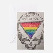 Hate Free Zone Greeting Cards
