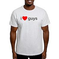 I Heart Guys Light T-Shirt