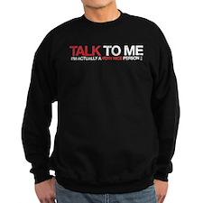 Talk to Me Red Sweatshirt