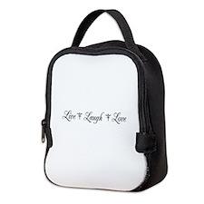 Live, Laugh, Love Neoprene Lunch Bag
