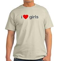 I Heart Girls Light T-Shirt