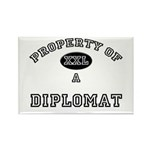 Property of a Diplomat Rectangle Magnet (10 pack)