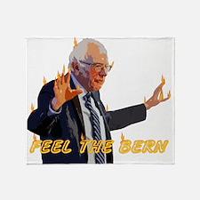 Feel The Bern Throw Blanket