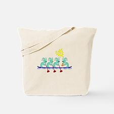 Kokopelli Rowing Tote Bag