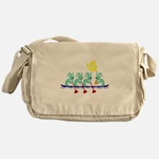 Kokopelli Rowing Messenger Bag