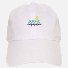 Kokopelli Rowing Baseball Baseball Cap
