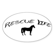 Rescue Life Horse Decal