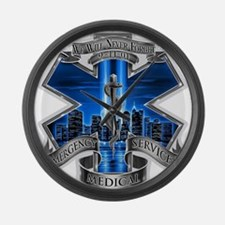 EMS 9-11 Large Wall Clock