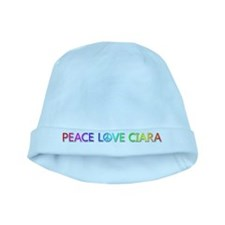 Peace Love Ciara baby hat