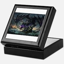Purple Dragon Keepsake Box