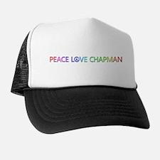 Peace Love Chapman Trucker Hat