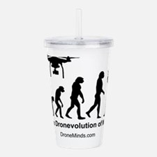 The Dronevolution of M Acrylic Double-wall Tumbler