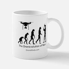 The Dronevolution of Man Mugs