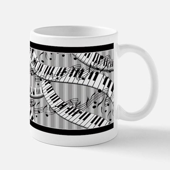 Piano Notes Ceramic Coffee Mug