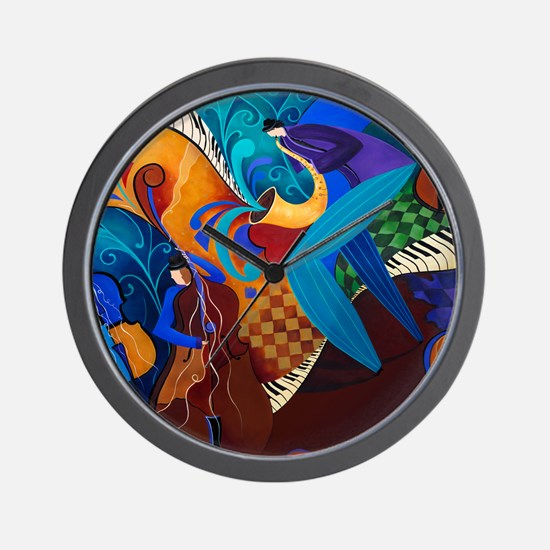 The Music Players Wall Clock
