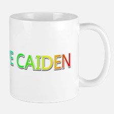 Peace Love Caiden Mugs