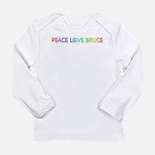 Peace Love Bruce Long Sleeve T-Shirt