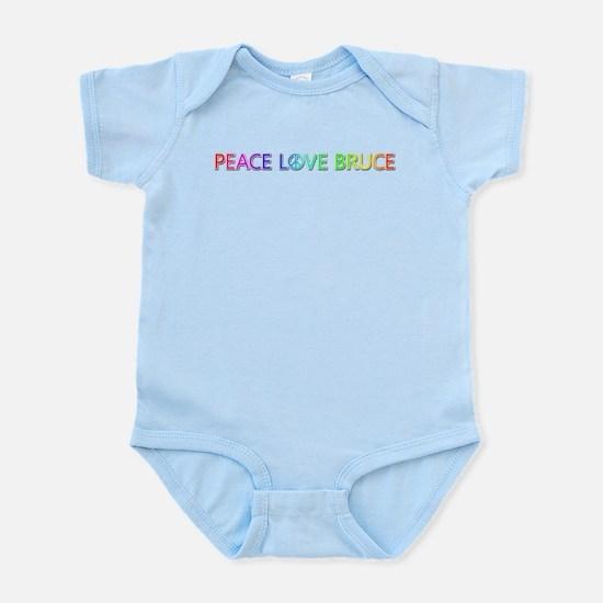 Peace Love Bruce Body Suit