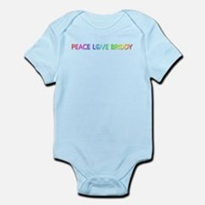 Peace Love Brody Body Suit