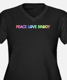 Peace Love Brody Plus Size T-Shirt
