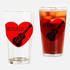 Unique Ukelele Drinking Glass