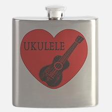 Cute Ukes Flask