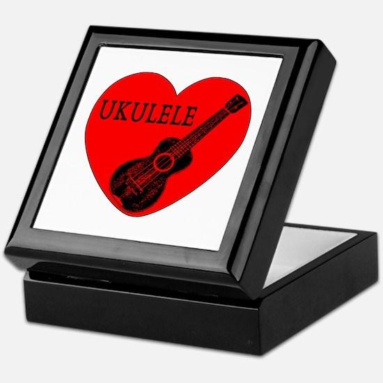 Ukulele Love Keepsake Box