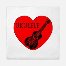 Ukulele Love Queen Duvet