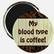 MY BLOOD TYPE... Magnets