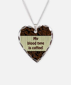 MY BLOOD TYPE... Necklace