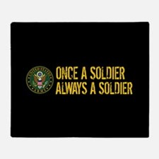 U.S. Army: Once a Soldier, Always a Throw Blanket