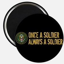 U.S. Army: Once a Soldier, Always a Soldier Magnet