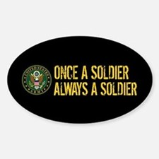 U.S. Army: Once a Soldier, Always a Decal