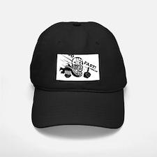 Cute Cafe racer motorcycle Baseball Hat