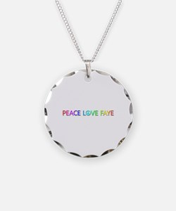 Peace Love Faye Necklace