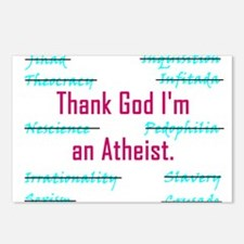THANK GOD Postcards (Package of 8)
