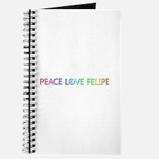 Peace Love Felipe Journal