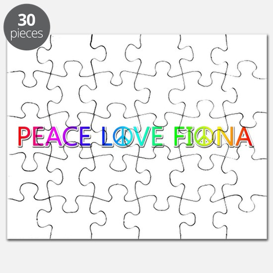 Peace Love Fiona Puzzle