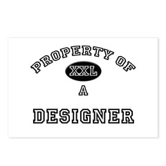 Property of a Dermatologist Postcards (Package of