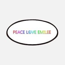 Peace Love Emilee Patch