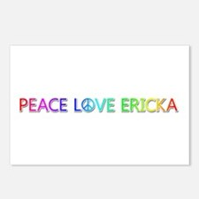 Peace Love Ericka Postcards 8 Pack