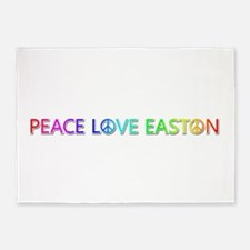 Peace Love Easton 5'x7' Area Rug