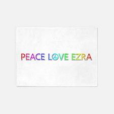 Peace Love Ezra 5'x7' Area Rug