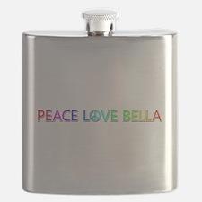 Peace Love Bella Flask