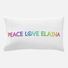 Peace Love Elaina Pillow Case