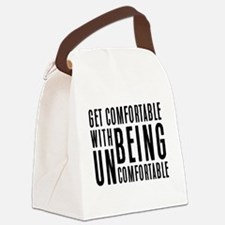 Cute Fitness Canvas Lunch Bag