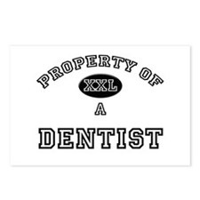 Property of a Dentist Postcards (Package of 8)