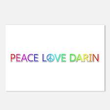 Peace Love Darin Postcards 8 Pack