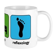 Eat, Sleep, Reflexology Mug